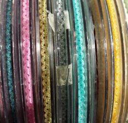 Paillettenband zum aufbügeln